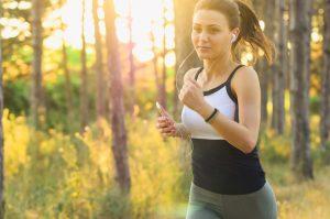 Löpning inomhus och utomhus